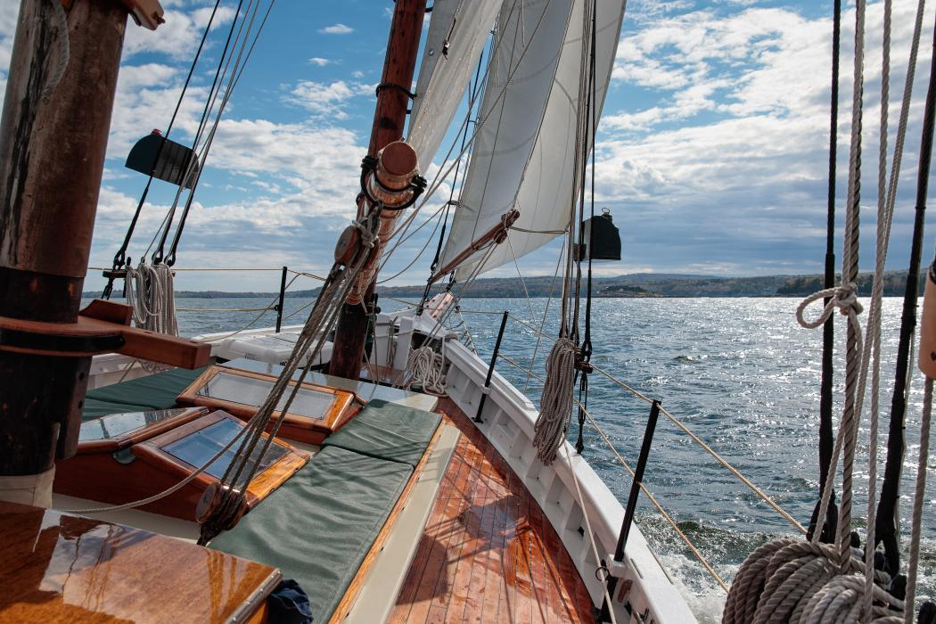 Warm Day on Penobscot Bay