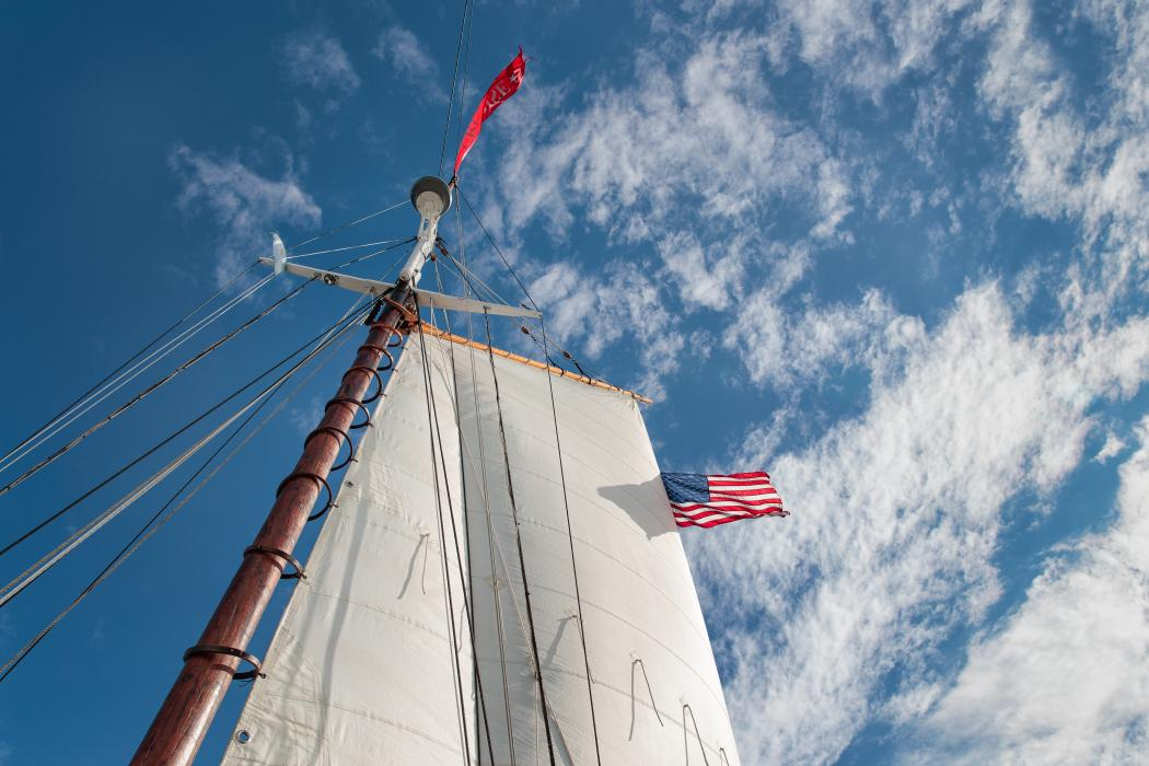 Full Sail in Camden Maine
