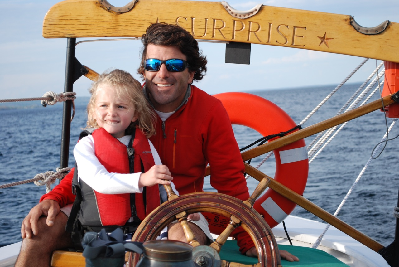 Future Captain on Surprise