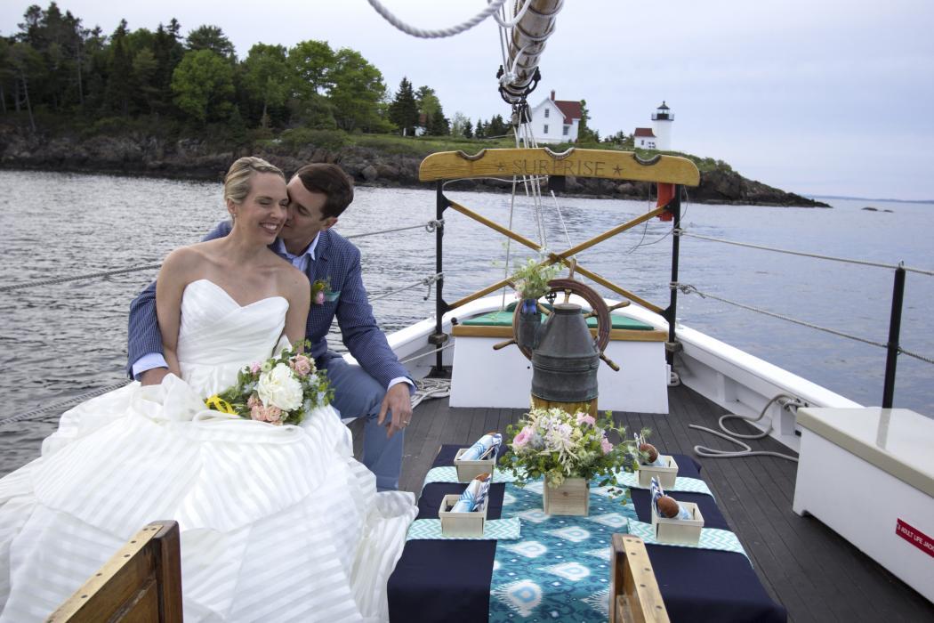 Wedding on Schooner Surprise