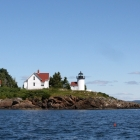 Curtis Island Light from Schooner Surprise