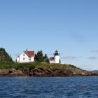 Curtis Island Light from Schooner Surprise