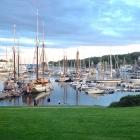 Camden Harbor in the Summer