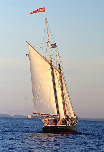 Sunset Sail on Schooner Surprise in Penobscot Bay