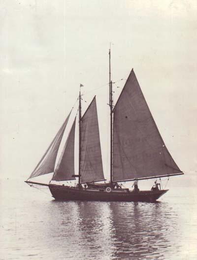 The Kattenhorns Underway, mid 1930's